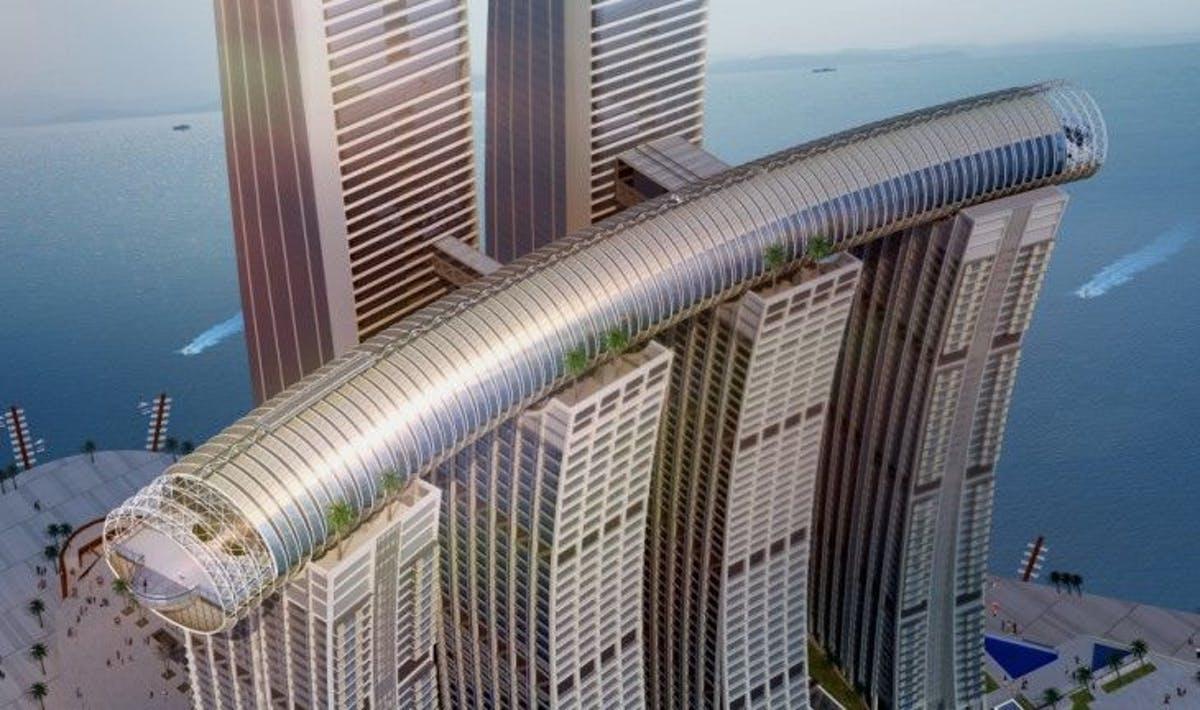 самый большой в мире горизонтальный небоскрёб